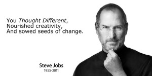 Steve Jobs Thought Leader Quote
